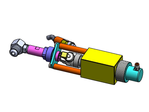 Ford Navistar-DT570 Injector Bench Adapter