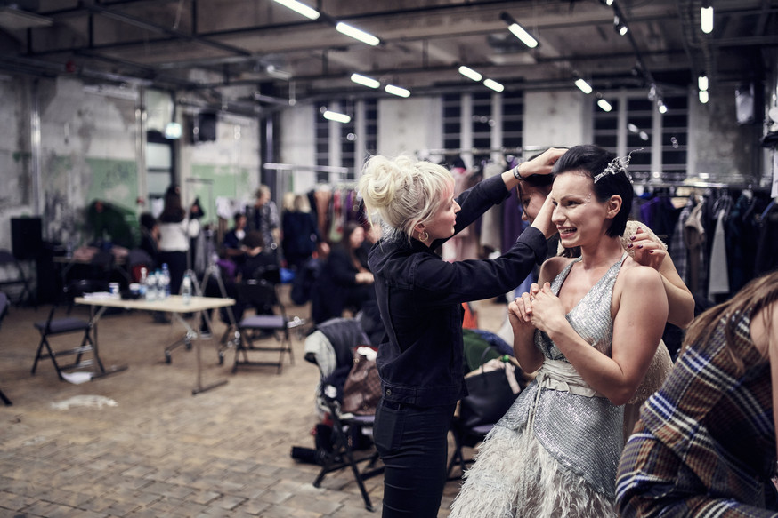 Emotions from the Tallinn Fashion Week backstage
