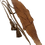 "Thumbnail: Fish leather belt ""Hazelnut"""