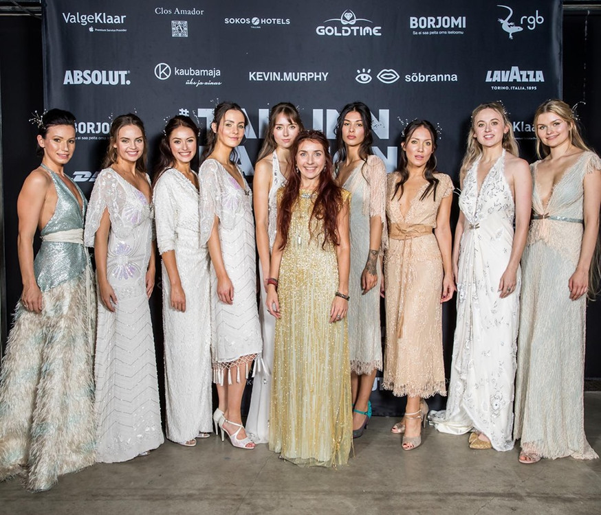 Nymf was opening a portal @Tallinn Fashion Week