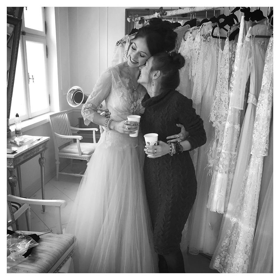 NYMF designer Triin Kärblane and her muse Ingrid Margus