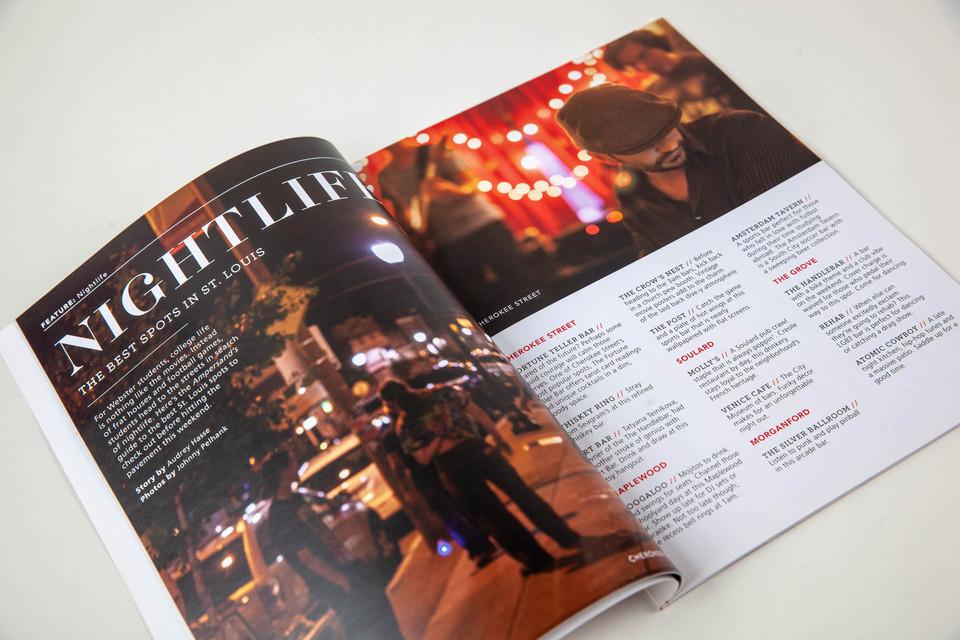 Ampersand Student Produced Magazine