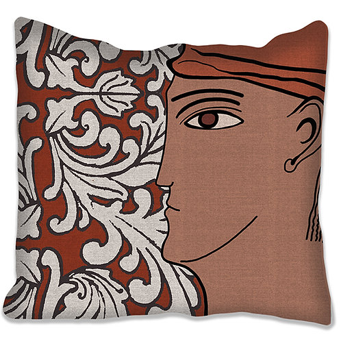"""""""Grenade"""" cushion 40x40 cm 5 colors and 4 different supports"""