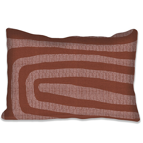 """Coussin """"Sinkolo"""" 5 coloris, 3 supports. 55x40 cm."""