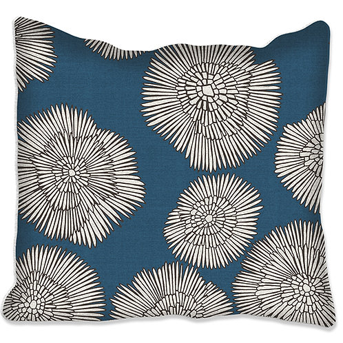 """Coussin """"Nora""""  3 tailles 3 supports et 6 coloris."""