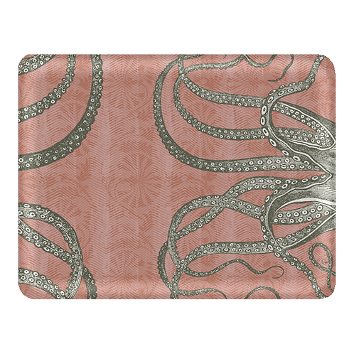 """Octopus"" tray 2 sizes, 7 colors from 40 euros"