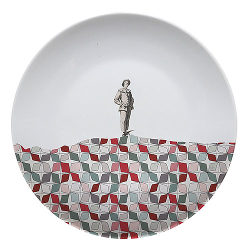 """Assiette décorative """"Comédia"""""""