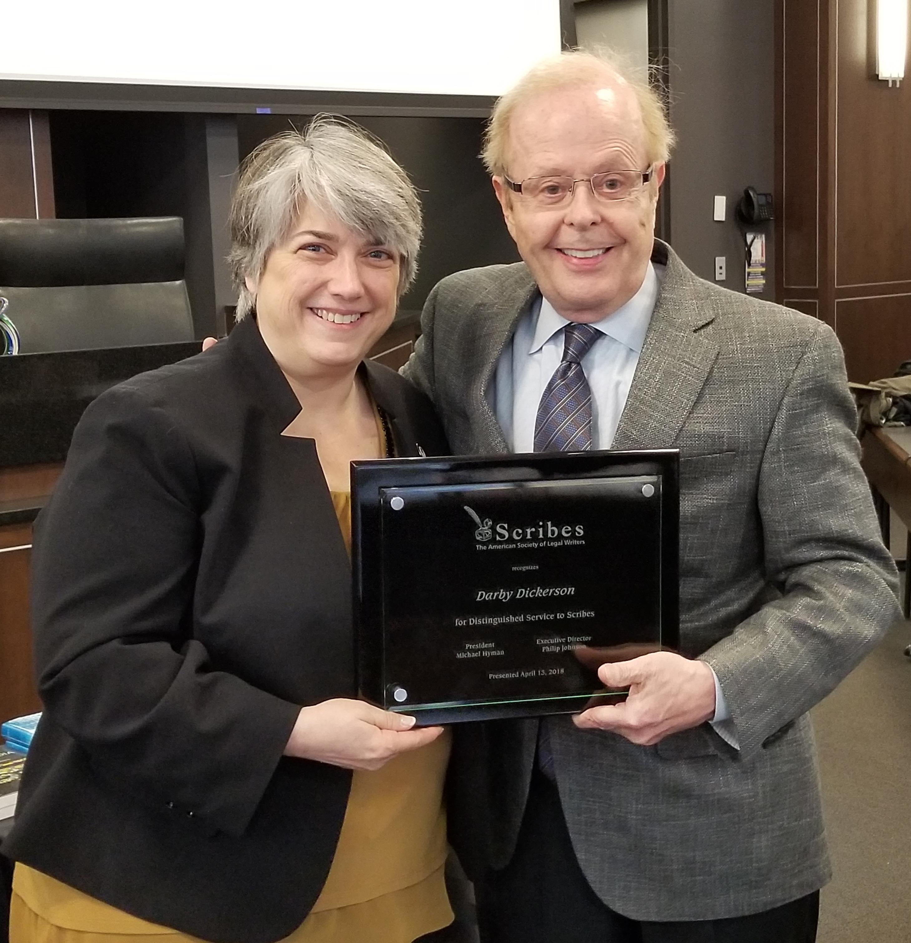 2018 Kimble Serivce Award