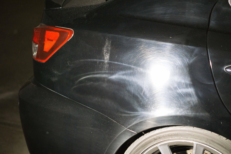 Paint Damage - Lexus IS-F