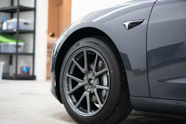 Tesla Auto Detailing Car Paint Correction Ceramic Coating Regina Unleashed Auto Care