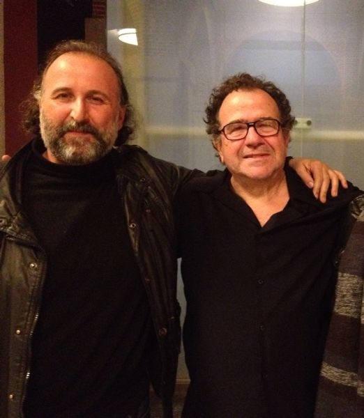 con Richard Galliano