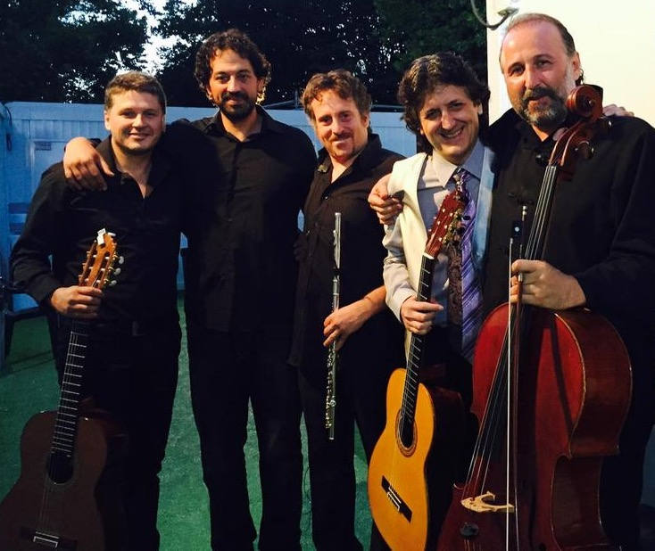 En los veranos de la Villa con Juan Manuel Cañizares y J.C.gomez