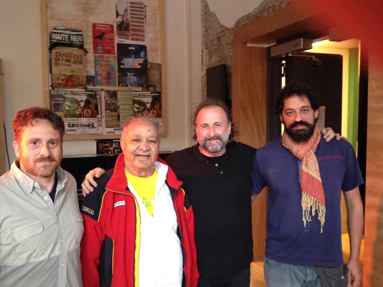 con Camerata Flamenco Project en Codarts con Hariprasad Chaurasia
