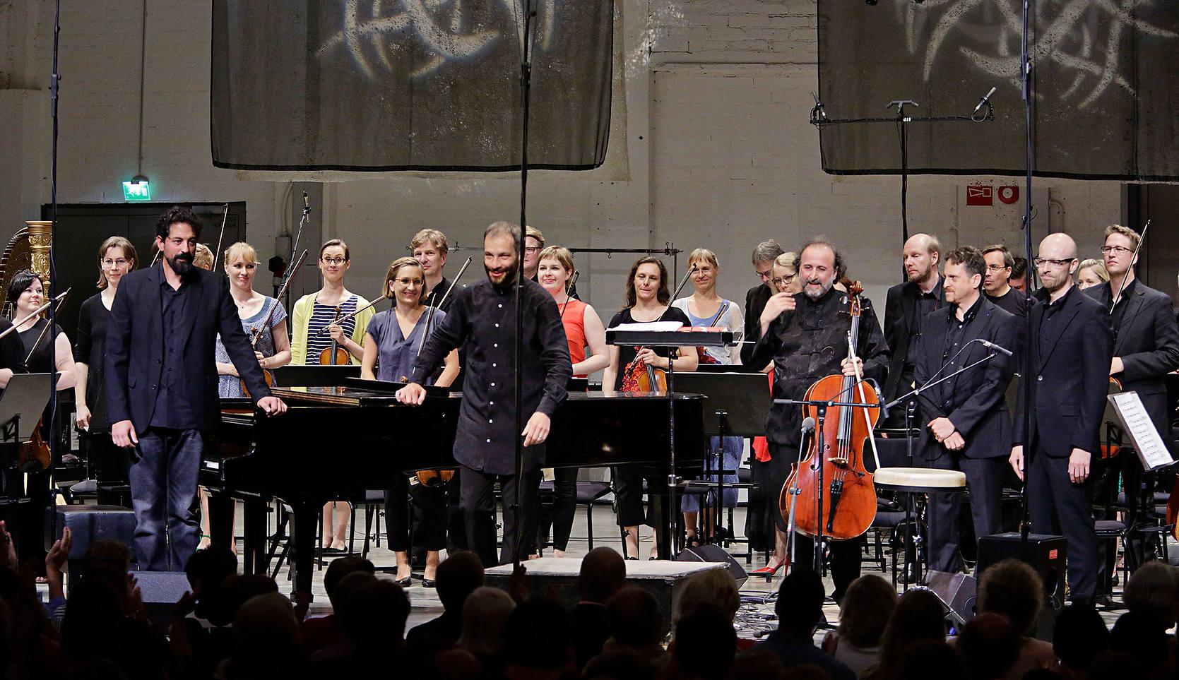Camerata Flamenco Project y la Avanti Chamber orchestra en el Avanti festival