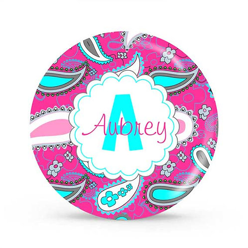 Paisley - Personalized Plate For Kids
