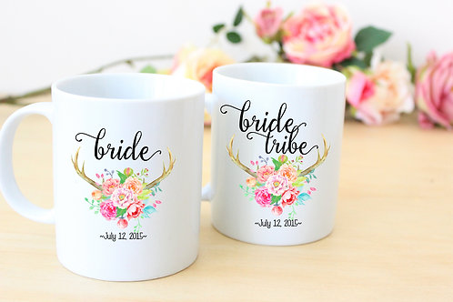 Bridal Party - Personalized Coffee Mugs