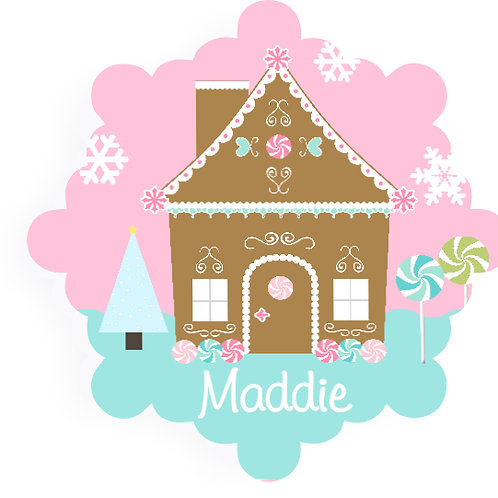 Gingerbread - Personalized Christmas Ornament