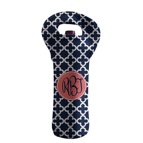Clubs - Personalized Wine Bottle Tote