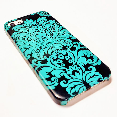 Damask - iPhone Wrap Around Cell Phone Case