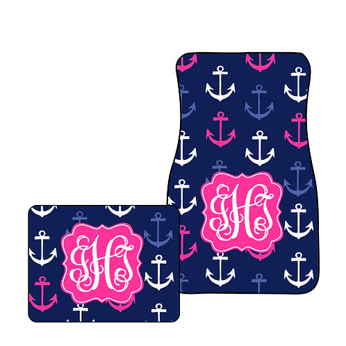 Anchors - Personalized Car Mats