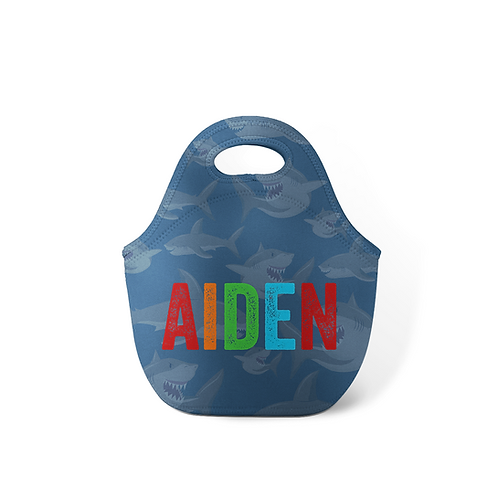 Shark - Personalized Lunch Tote