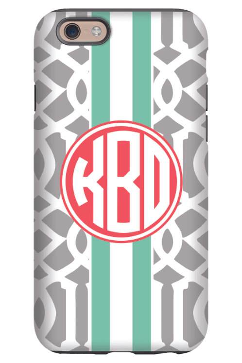 GrayTrellis - Personalized iPhone 6 Case #232
