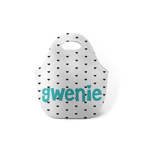 Dots - Personalized Lunch Tote