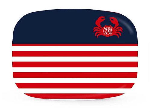 Crabby - Personalized Nautical Platter