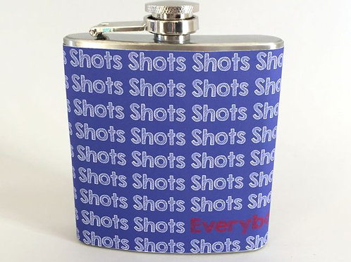 Stainless Steel Flask Item #ssf1004