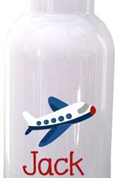 Airplane - Personalized Water Bottle Item #WB12