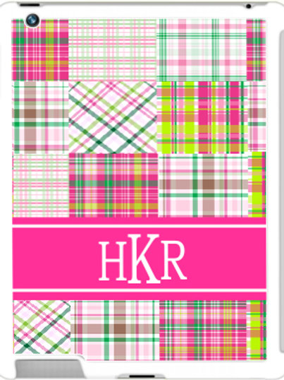 Plaid - Personalized iPad- iPad Mini Case