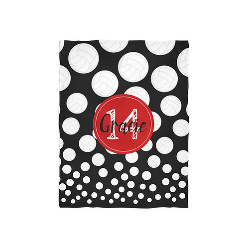 Volleyball Life - Personalized Throw Blanket