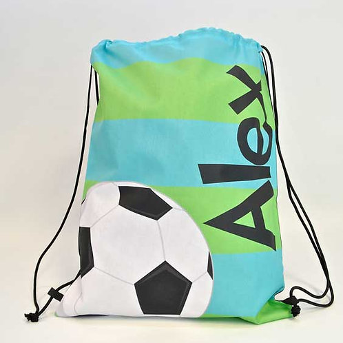 Soccer - Personalized Draw String Bag