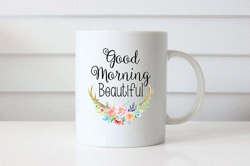 Good Morning Beautiful - Ceramic Coffee Mug