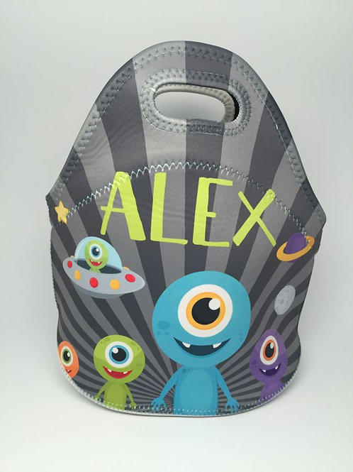 Alien  - Personalized Lunch Tote