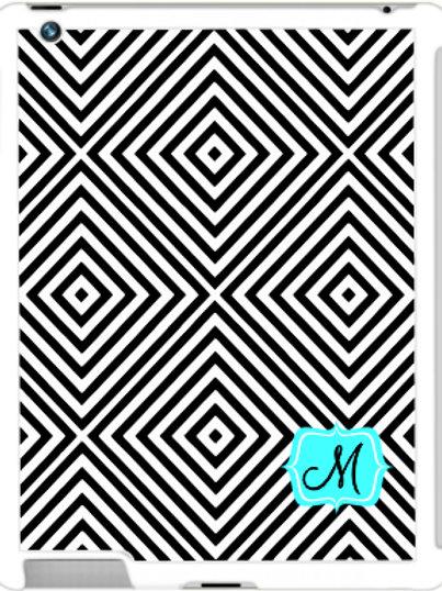 Geometric - Personalized iPad- iPad Mini Case