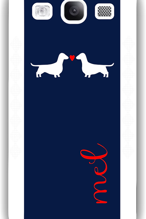 Puppy Love - Personalized Galaxy S3 Case
