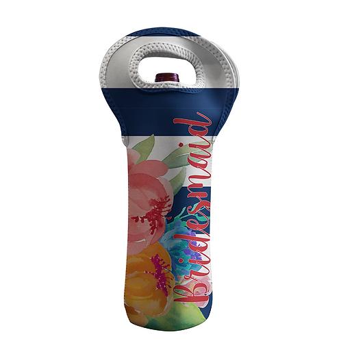 Brazil - Personalized Wine Bottle Tote
