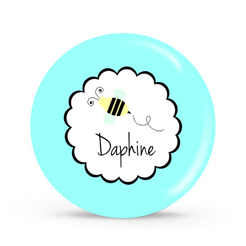Buzzy Bee - Personalized Plate For Kids