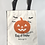 Thumbnail: Jack O' - Personalized Canvas Halloween Tote
