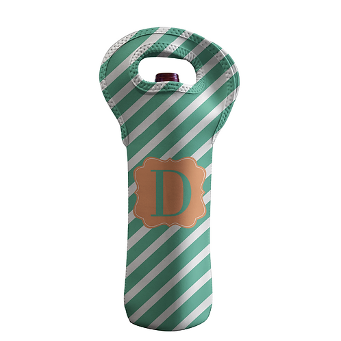 Miaimi Stripes - Personalized Wine Bottle Tote