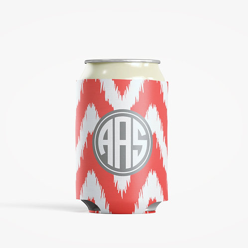 iKat Chevron  - Personalized Can Insulator Coolie
