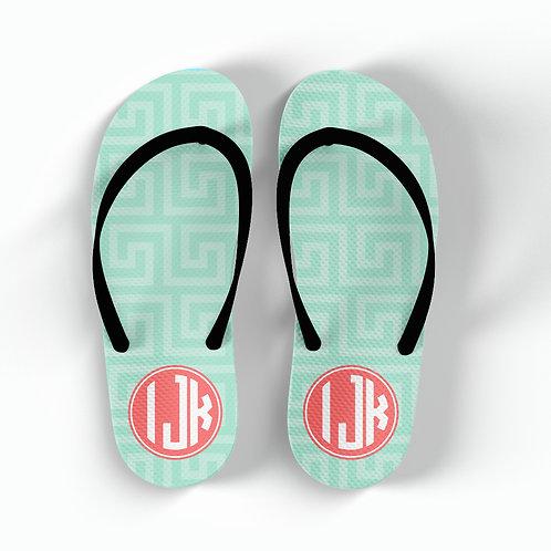 Maze - Personalized Flip Flops