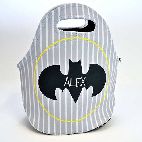 Batman - Personalized Lunch Tote
