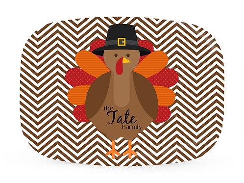 Turkey Day  - Personalized Platter