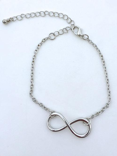 Infinity Bracelet - Sliver