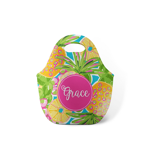 Pinapple - Personalized Lunch Tote