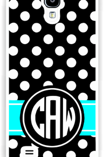 Midnight Dots - Personalized Samsung S4 Cases