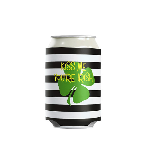 Stripes - Personalized Can Insulator Coolie