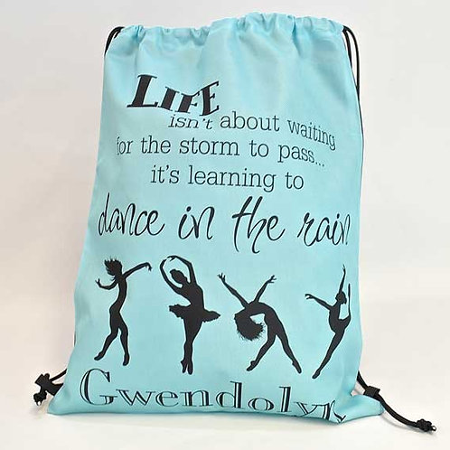 Dancer - Personalized Draw String Bag